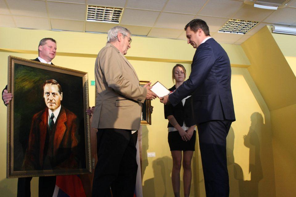 Štefan Kvietik je prvým držiteľom Radu Martina Rázusa