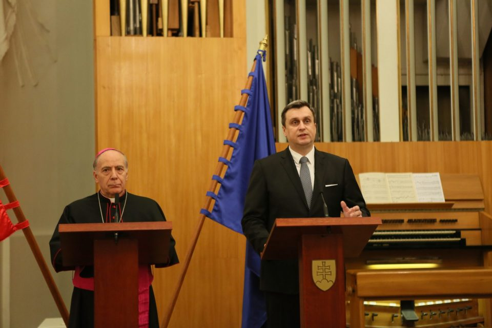 A. Danko - Príhovor pri príležitosti stretnutia diplomatov na BA hrade