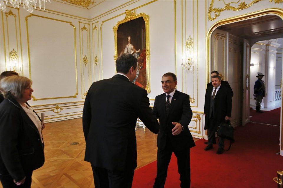A. Danko - Prijatie predsedu Národného zhromaždenia Arménska v Bratislave