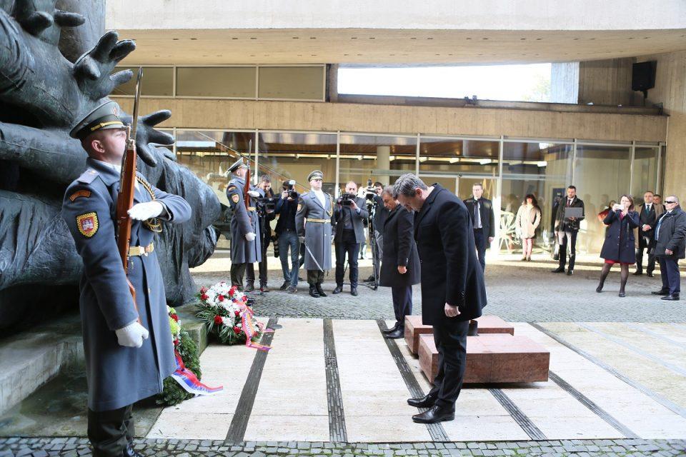 A. Danko - Návšteva arménskej delegácie na Slovensku
