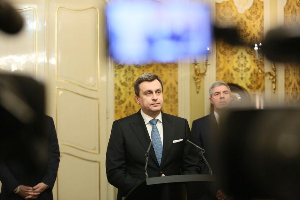 A. Danko - Vyjadrenie po koaličnej rade ku vysokoškolským internátom a zelenej nafte