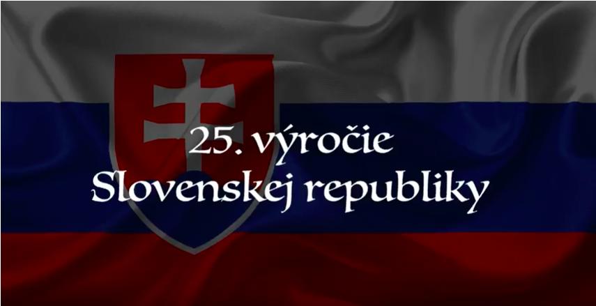 25. výročie Slovenskej republiky