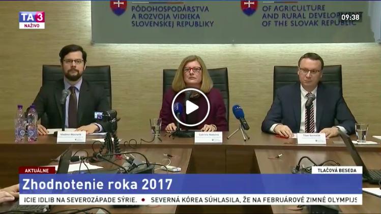 TB G. Matečná a T. Bernaťák - Zhodnotenie roka 2017 v pôdohospodárstve