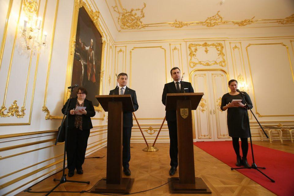 A. Danko - Po prijatí Predsedu Sejmu Poľskej republiky Mareka Kuchcińského