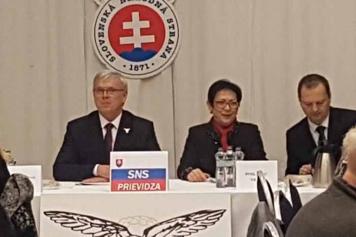 Okresná konferencia SNS Prievidza