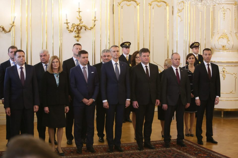 A. Danko  - Vymenovanie novej vlády SR