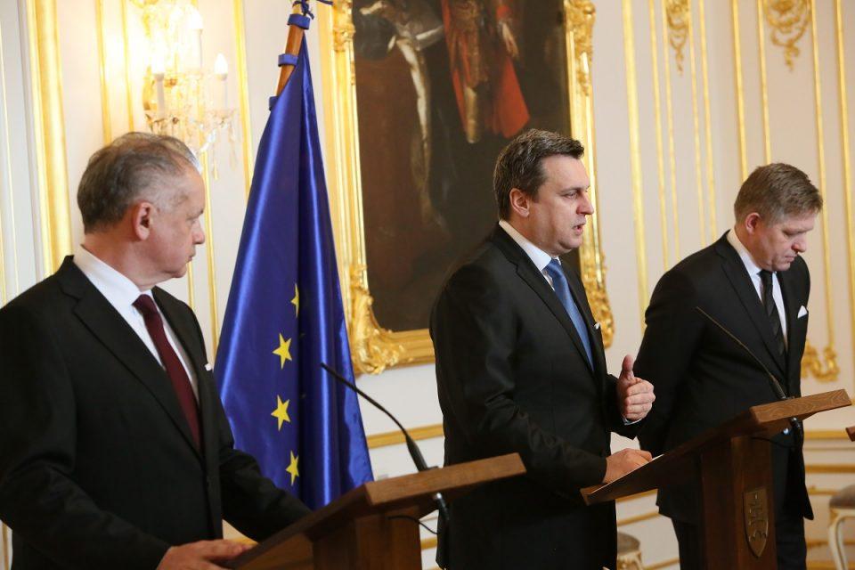 A. Danko - Po stretnutí ústavných činiteľov