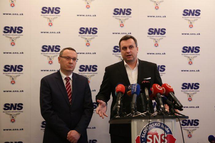A. Danko: SNS je pripravená na rekonštrukciu vlády, ale aj na predčasné voľby