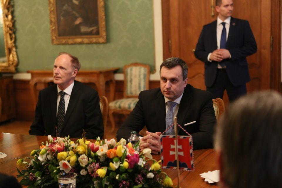 A. Danko - Po stretnutí s prezidentom SR