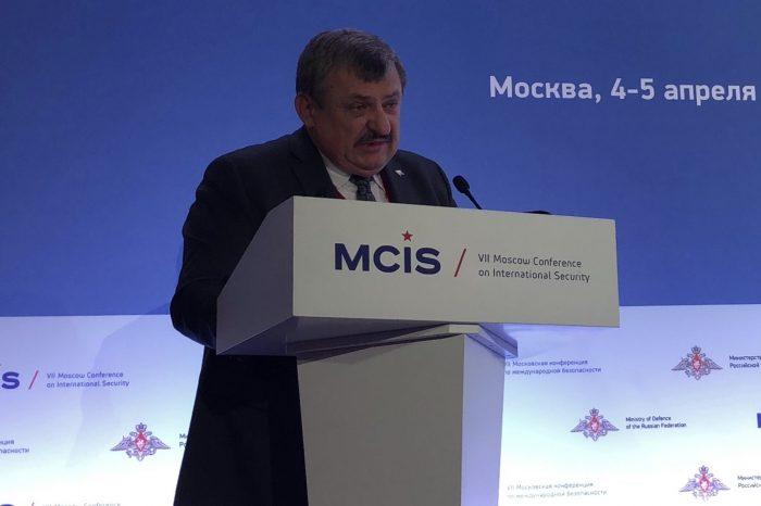 Moskovská konferencia o medzinárodnej bezpečnosti s účasťou Antona Hrnka
