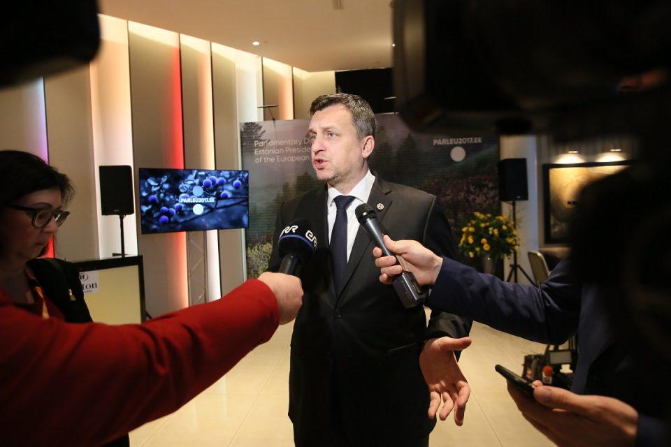 A. Danko - Po bilaterálnom rokovaní v Tallinne
