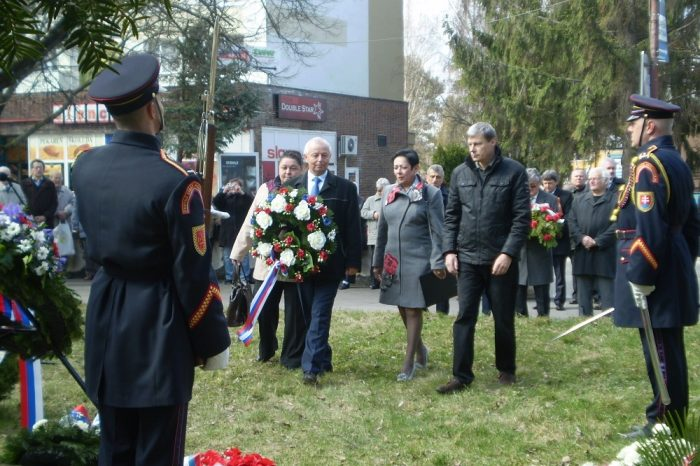 Pietna spomienka na obete II. sv. vojny v Senici
