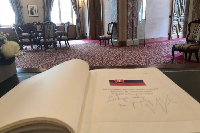 Vzájomné vzťahy medzi Slovenskou republikou a Luxemburskom sú na veľmi dobrej úrovni
