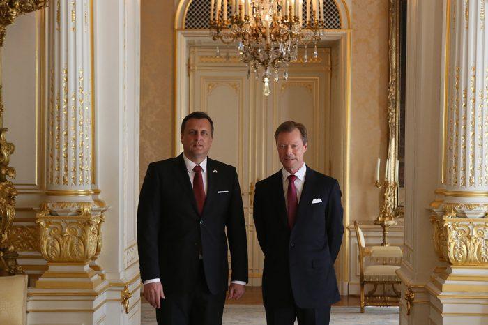 A. Danko - Stretnutie s veľkovojvodom luxemburským, Henrim