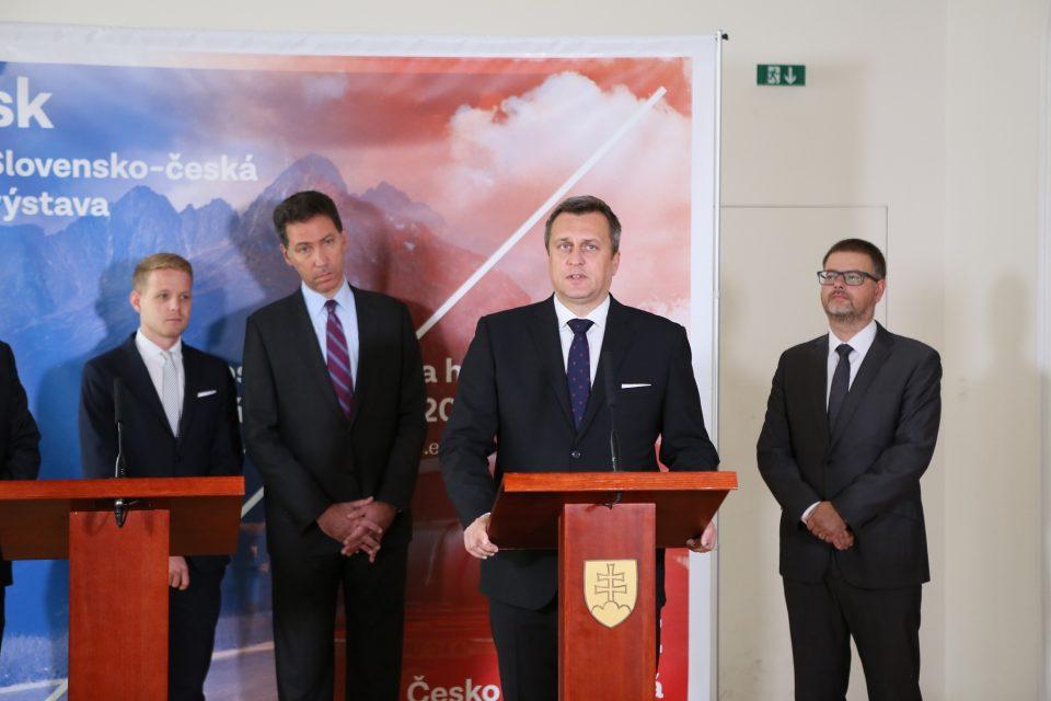A. Danko - Otvorenie výstavy na Bratislavskom hrade