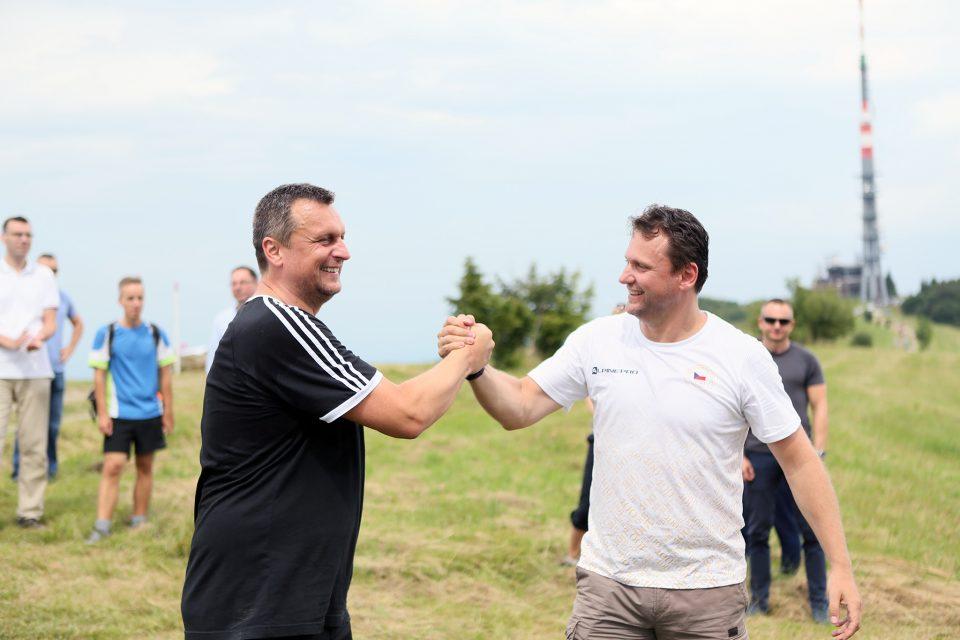 A. Danko - Výstup na Veľkú Javorinu