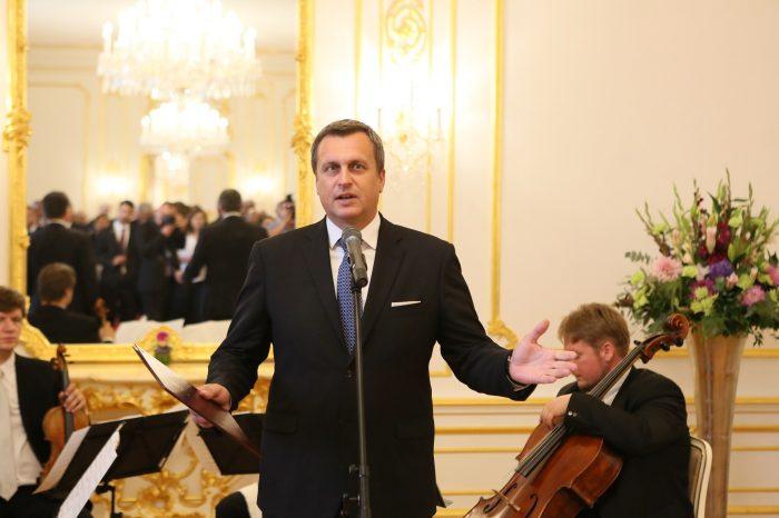 Predseda parlamentu Andrej Danko prijal našich veľvyslancov