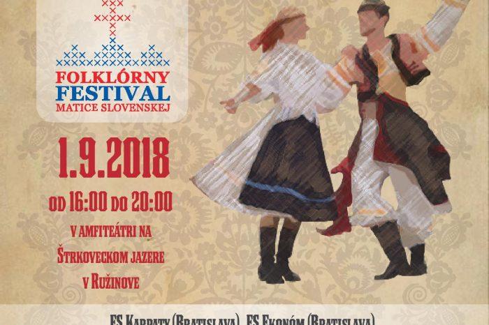 Folklórny festival Matice slovenskej