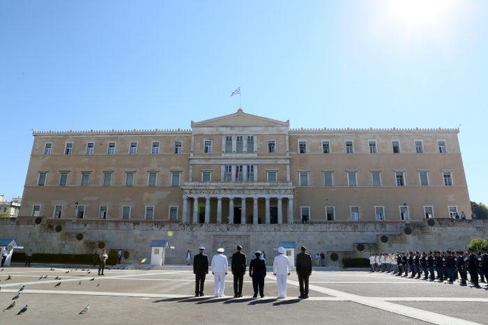Poctami pri Hrobe neznámeho vojaka začala dvojdňová cesta predsedu parlamentu v Grécku
