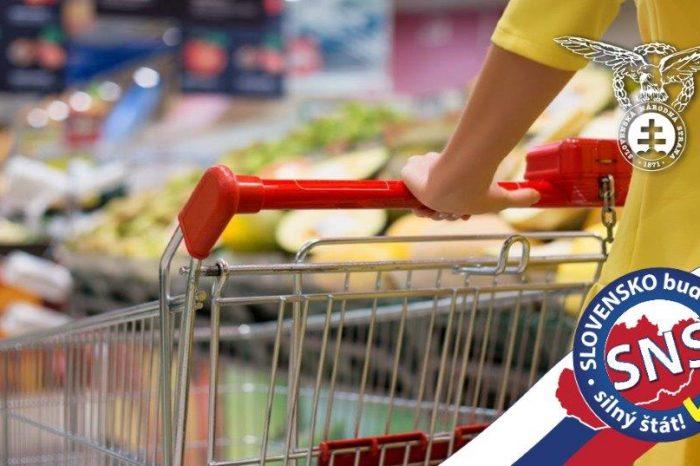Osobitný odvod reťazcov bude nástroj na zvýšenie predaja a kvality slovenských potravín na domácom a zahraničnom trhu