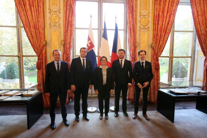 A. Danko: Slovenská republika má záujem o ďalšie prehlbovanie spolupráce na parlamentnej úrovni s Francúzskom