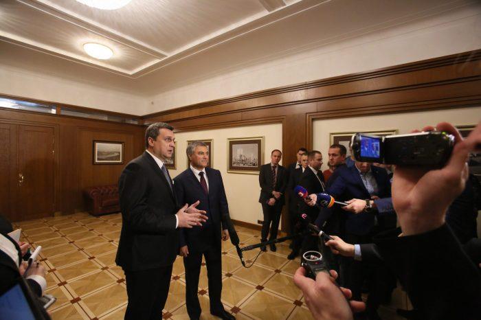 Andrej DANKO: Som rád, že sa potvrdzujú moje slová, že svet musí spolupracovať s Ruskom