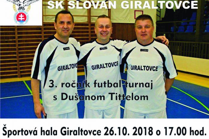 3. ročník futbalového turnaja s Dušanom Tittelom