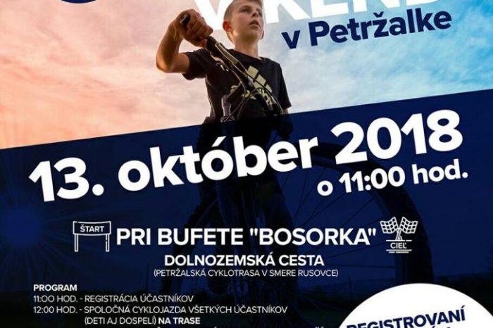 Cyklo víkend v Petržalke