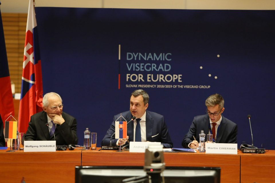 A. Danko - Po rokovaní predsedov parlamentov štátov V4, Francúzska a Nemecka