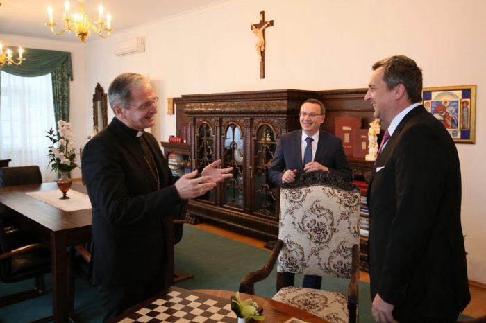 Andrej Danko: Je mi cťou, že sa poznám s arcibiskupom Zvolenským. A je mi ešte väčšou cťou, že mu dnes môžem zablahoželať k jeho jubileu.