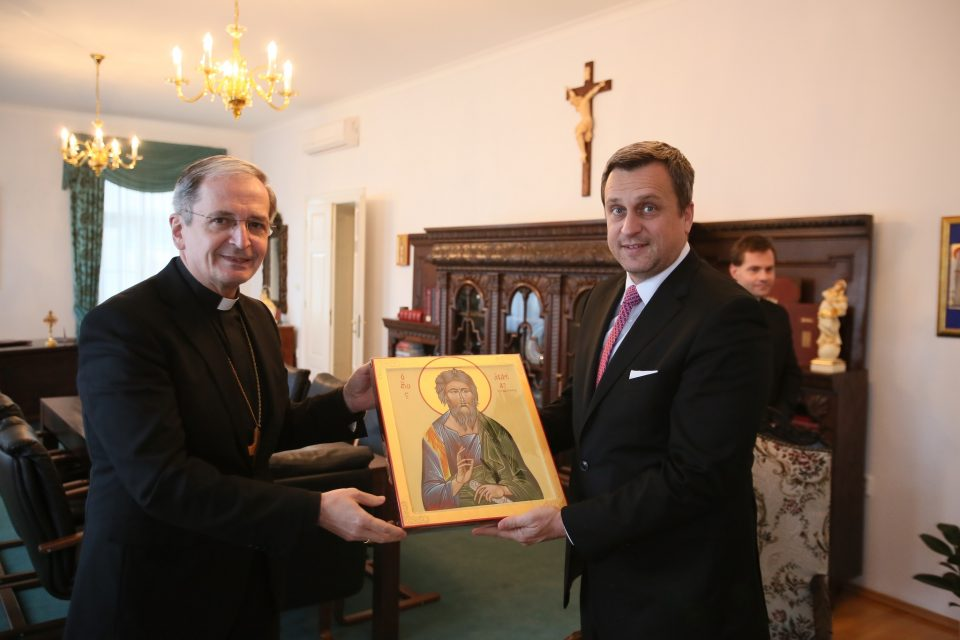 A. Danko - Gratulácia arcibiskupovi Zvolenskému