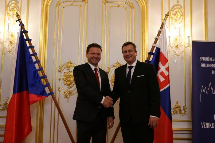 Andrej Danko vystúpi ako prvý slovenský politik v pléne českého parlamentu