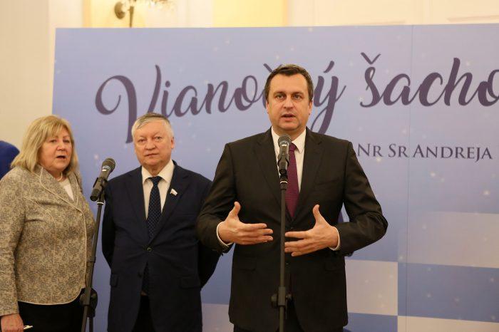 A. Danko - 2. vianočný šachový turnaj s A. Karpovom