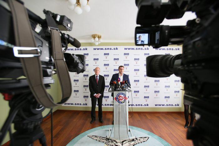 Andrej Danko: Dubček vstúpil do SNS. Bude kandidovať do Európskeho parlamentu s lídrom kandidátky, 1. podpredsedom Jaroslavom Paškom