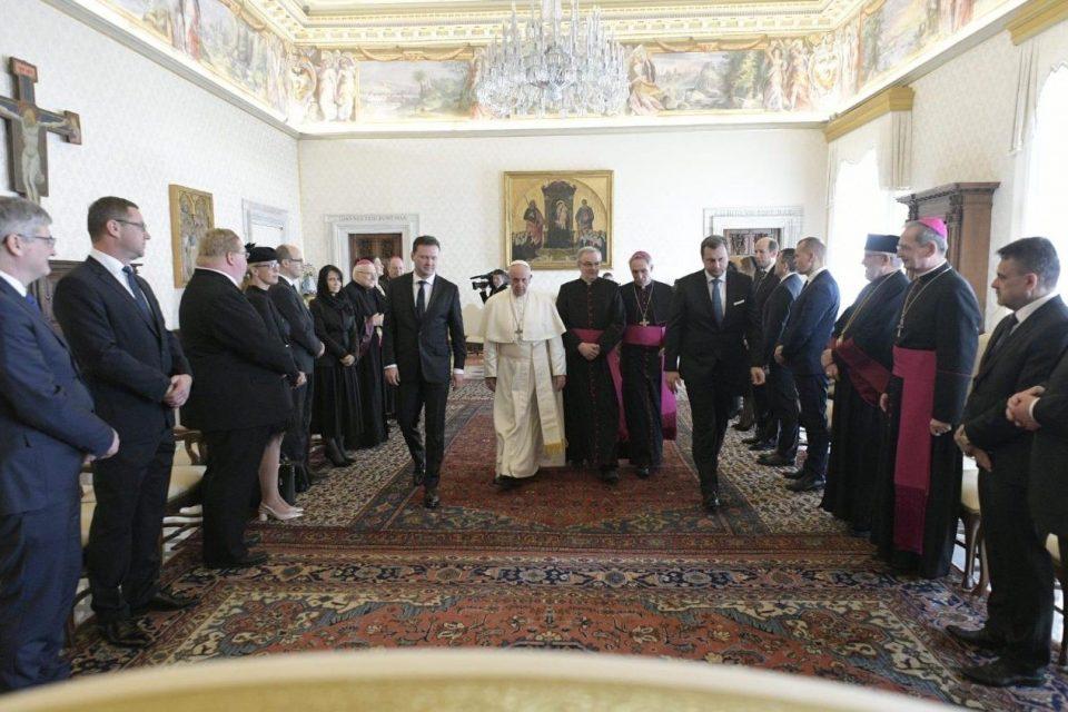 A. Danko - Audiencia u pápeža Františka vo Vatikáne a návšteva v Ríme
