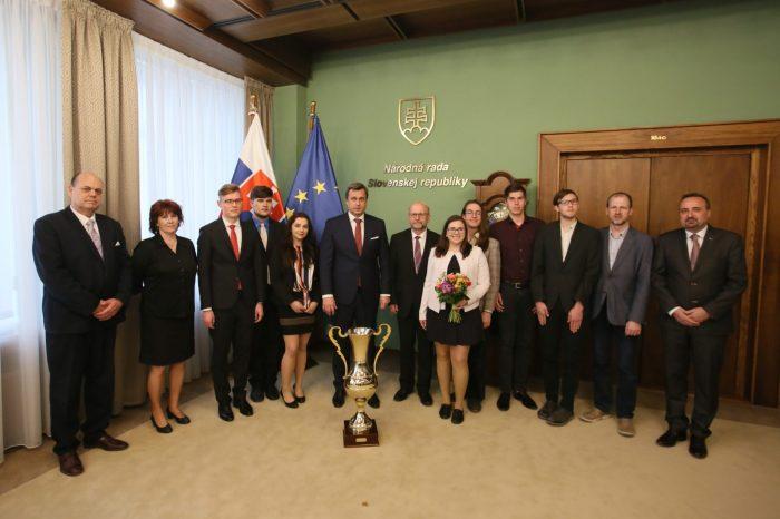 A. Danko - Prijatie študentov dejepisu zo Slovenskej a Českej republiky