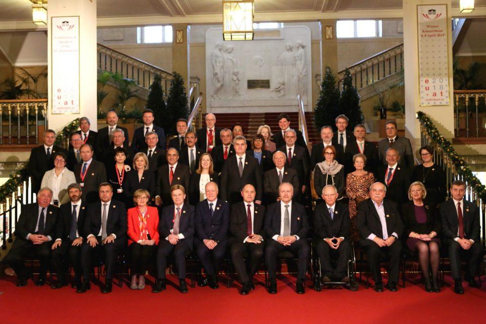 A. Danko - Konferencia šéfov parlamentov EÚ vo Viedni