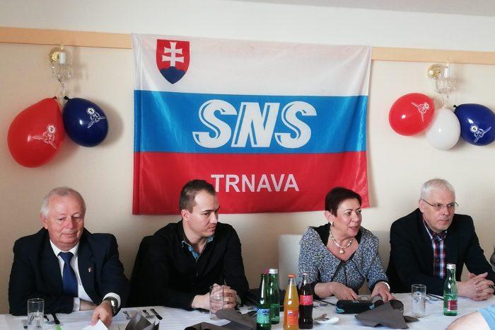 Okresná konferencia SNS v Trnave