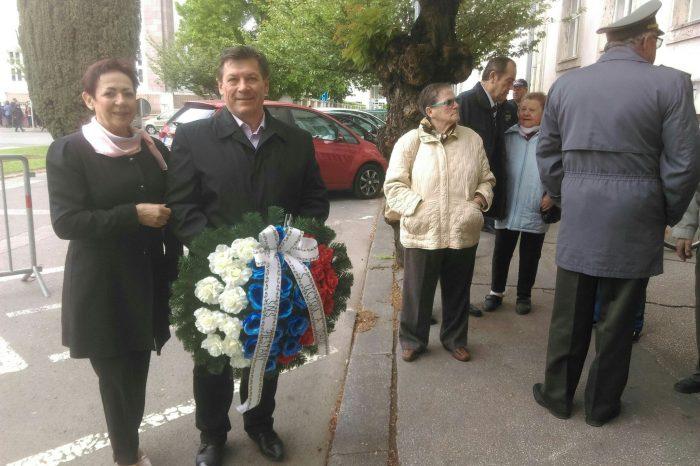 Spomienková slávnosť v rámci 74. výročia ukončenia II. svetovej vojny v Piešťanoch