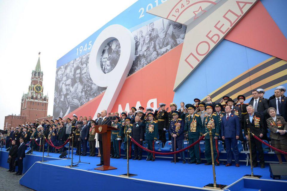 A. Danko - Vojenská prehliadka v Moskve