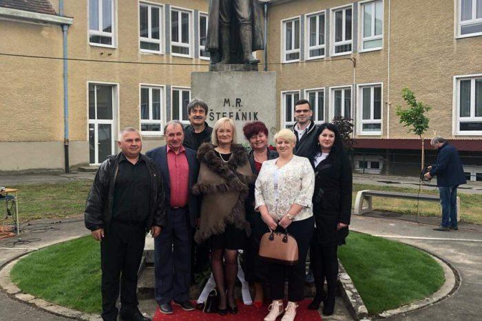 Členovia SNS z okolia Nové Zámky a Maríny si uctili 100 výročie úmrtia veľkého Slováka