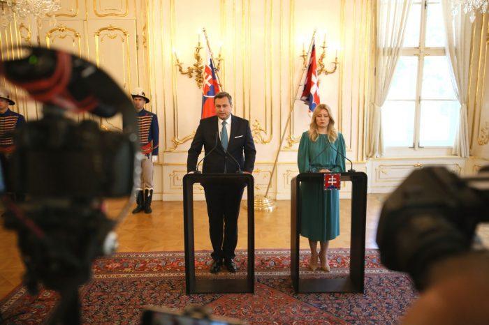 A. Danko - Po stretnutí s pani prezidentkou Zuzanou Čaputovou