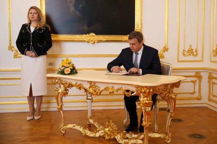 A. Danko - Podpis spoločnej deklarácie