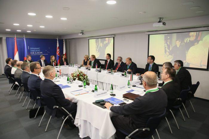 A. Danko - Po rokovaní Vyšehradskej skupiny