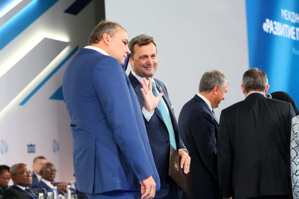 A. Danko - V Moskve na fóre rozvoja parlamentarizmu