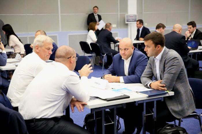 A. Danko - S podnikateľmi v Moskve a vo fabrike Chirana