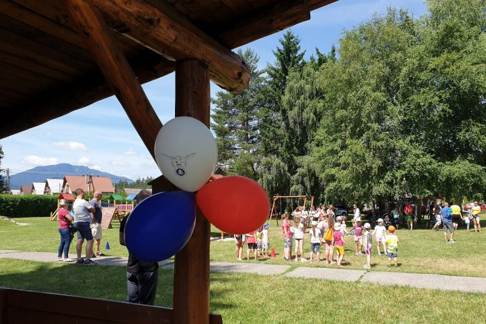 Národniari z Liptovského Hrádku pripravili Športový deň pre deti