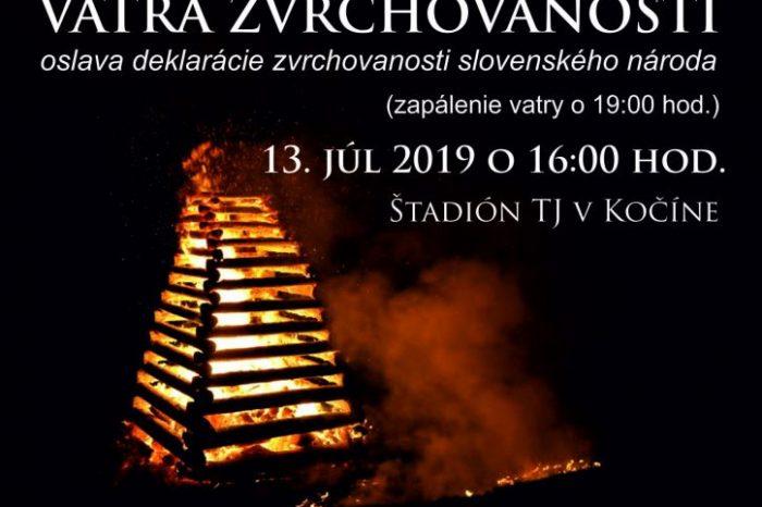 Krajská vatra zvrchovanosti 2019 Trnavského kraja