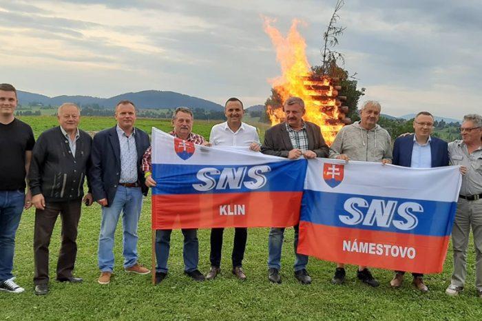 Vatra zvrchovanosti v Oravskej Lesnej