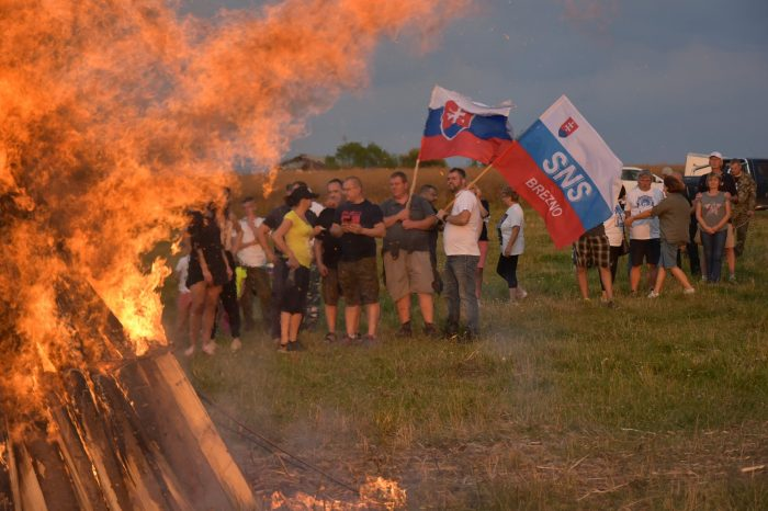 Vatra zvrchovanosti v Brezne